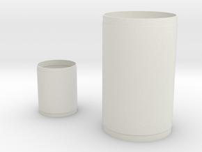 1:96 S-1C S-IVB for Matt in White Natural Versatile Plastic