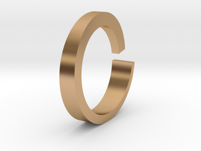 Rog Ring in Polished Bronze