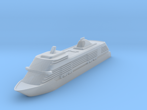 1:1250 Seven Seas Explorer - Hollowed in Smooth Fine Detail Plastic: 1:1250