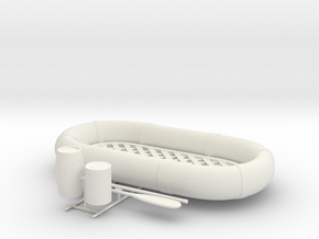 Best Cost 1/24 USN Life Raft Oval SET in White Natural Versatile Plastic