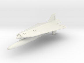 Lockheed D-21B 1/144 in White Natural Versatile Plastic
