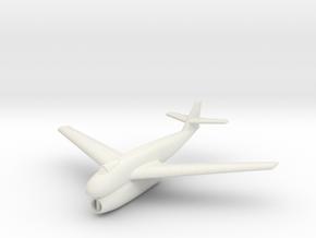 (1:144) Blohm & Voss BV P198.01 (Swept wings) in White Natural Versatile Plastic
