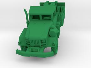 M818 Tractor Truck in Green Processed Versatile Plastic: 1:144