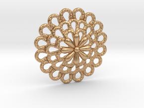 Bottone_Scanno in Natural Bronze: Small