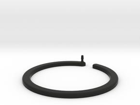 Rain Ring in Black Natural Versatile Plastic