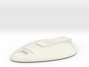 1/1000 USS Goodson Saucer in White Natural Versatile Plastic