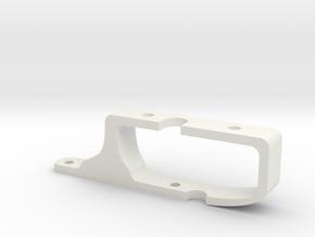 Haltec Elite ECU Mount for Mitsubishi EVO 8/9 in White Natural Versatile Plastic