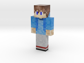 FlamingAsasinYT   Minecraft toy in Natural Full Color Sandstone