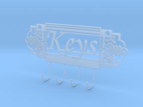Keys Holder in Smooth Fine Detail Plastic