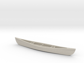 1/24 Scale 18 Ft Canoe in Natural Sandstone