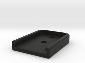 KWA KRISS Vector Long Magazine Base Plate in Black Natural Versatile Plastic