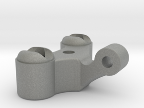 1/12 Scale Right Pillow Ball Steering Knuckle in Gray Professional Plastic