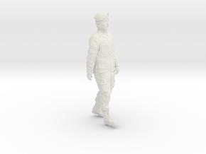 1/24 Modern Unif Beret Fig402-02 in White Natural Versatile Plastic