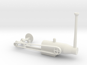 SAWMILL boilersaw in White Natural Versatile Plastic