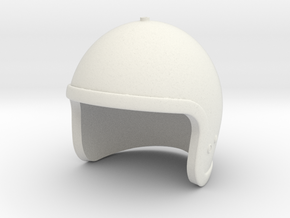 Lost in Space Helmet - 1/6 scale in White Natural Versatile Plastic