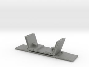 HO/1:87 Precast concrete bridge segment kit (small in Gray PA12