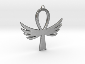 Ankh-4 in Natural Silver