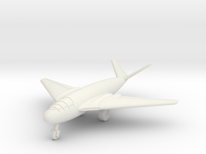 (1:200) Messerschmitt Me P.1107/II (with gear) in White Natural Versatile Plastic