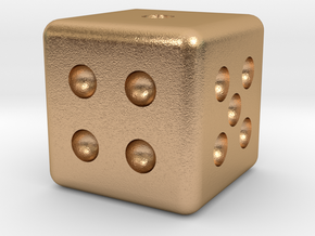 Classic Die in Natural Bronze