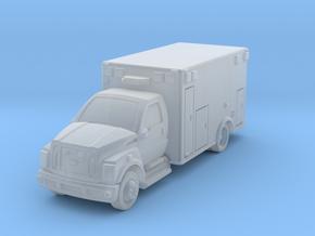 Ambulance F650 in Smoothest Fine Detail Plastic: 1:200