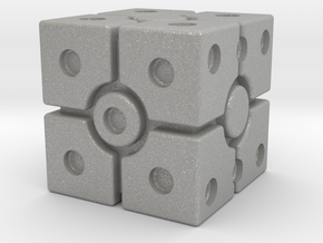 Imperial Scanner Dice in Aluminum: Small
