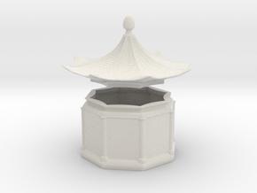 Pagoda Box in Matte Full Color Sandstone