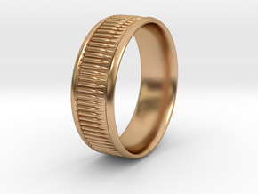 Bullet Belt Ring - multiple sizes available in Polished Bronze: 5 / 49