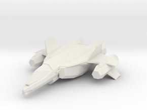 UNSC SABRE in White Natural Versatile Plastic