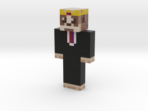 philip_statho   Minecraft toy in Natural Full Color Sandstone