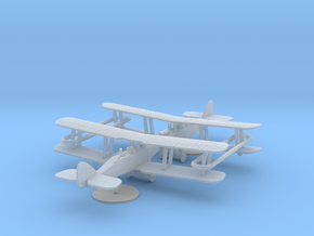 Airco D.H.9 in Smooth Fine Detail Plastic: 1:285 - 6mm