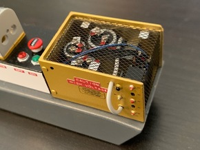 1:8 BTTF DeLorean Clare Electroseal box internals in Smoothest Fine Detail Plastic