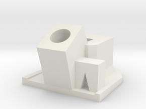 Bloccaggio spina Mennekes Greengo Icaro in White Natural Versatile Plastic