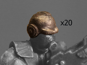 28mm Terran Empire helmet in Smoothest Fine Detail Plastic