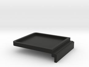Room Screen Blanking Plate in Black Natural Versatile Plastic