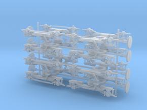 Bombardier Electrostar 1/148 Bogies in Smooth Fine Detail Plastic