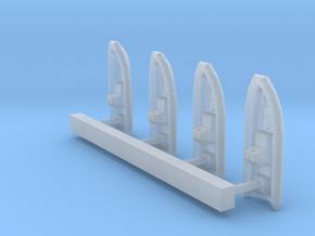 1:350 Scale USN 7 Meter RHIB in Smooth Fine Detail Plastic
