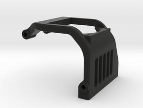 TLR 22 5.0 Laydown fan brace 30mm in Black Natural Versatile Plastic