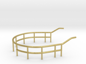 1/72 U-Boot U-441 Railing 2 for Conning Tower in Natural Brass