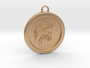 eagle-pendant in Natural Bronze