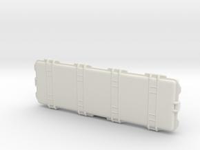 Printle Thing Barett rifle case - 1/24 in White Natural Versatile Plastic