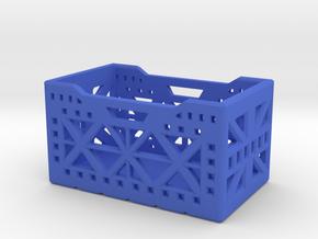 Scale Storage Crate in Blue Processed Versatile Plastic