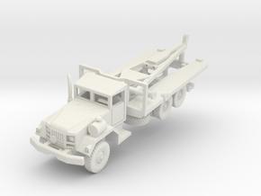 M812 Bridge Carrier in White Natural Versatile Plastic: 1:100