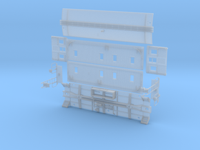 Pacific Electric Flat Top Caboose in Smooth Fine Detail Plastic