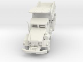 M817 Dump Truck in White Natural Versatile Plastic: 1:200
