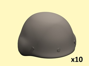28mm Russian helmets 6b7 in Smoothest Fine Detail Plastic