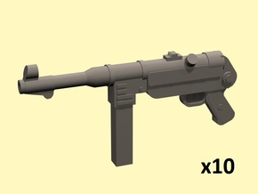 28mm MP-40 in Smoothest Fine Detail Plastic