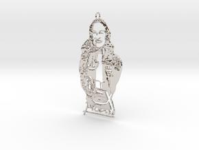 Creator Pendant in Platinum