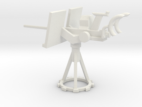 1/72 Scale 20mm Gun Mount Mk10 in White Natural Versatile Plastic