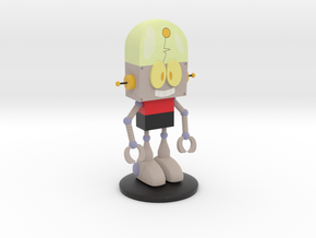 Robot Jones in Matte Full Color Sandstone