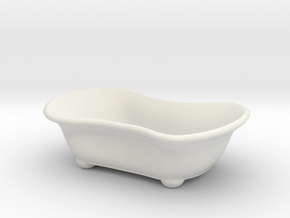 Bathtub Soap Holder in White Natural Versatile Plastic